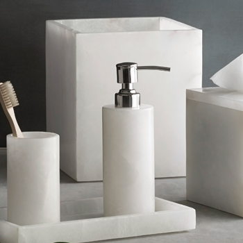 Refresh Your Bath with New Alabaster Accessories