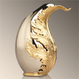 L'Objet Lamina Stainless Steel Vase | Gracious Style