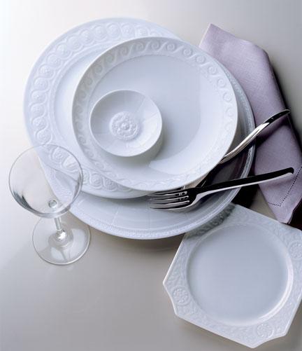 Louvre Dinnerware by Bernardaud