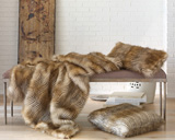 Peacock Alley Lucca Throw Blanket & Pillows | Gracious Style