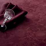 Mille Datcha Aubergine Table Linens