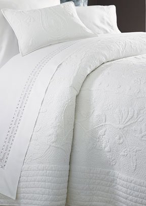 Monique Quilted Bedspread Coverlet &#124; Gracious Style