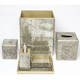 Mosaic Metallic Bath Accessories by Waylande Gregory| Gracious Style