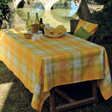 Mille Panache Canary Table Linens