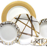 Kelly Wearstler Mulholland Dinnerware | Gracious Style