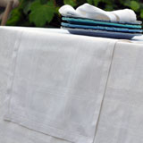 Linen Way Natalie White Table Linens &#124; Gracious Style