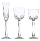 Nouveau Simplicity Crystal Stemware by Varga | Gracious Style