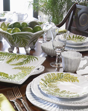 Painted Palms Dinnerware by Vietri | Gracious Style