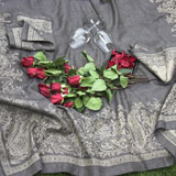Linen Way Paisley Black Table Linens &#124; Gracious Style