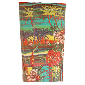 Palm Beach Cotton Beach Towel by Fresco | Gracious Style