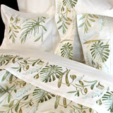 Paradise Embroidered Bedding by Anali | Gracious Style