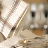 Parma Kitchen Towels Linen Tea Towels | Gracious Style