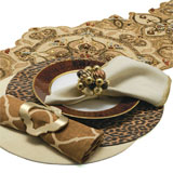 Kim Seybert Pattern Play Table Setting | Gracious Style