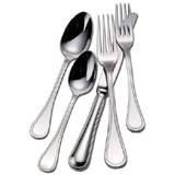 Couzon Le Perle Silverplated Flatware | Gracious Style
