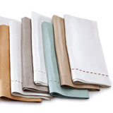 Kim Seybert Pick Stitch Linen Napkins &#124; Gracious Style