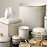 Pinafore Bath Accessories Bone China | Gracious Style