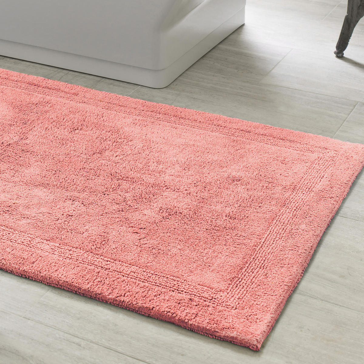 "Bathroom Rugs 36 X 72: Pine Cone Hill Signature Coral Bath Rug 20"" X 30"