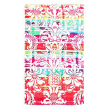 Rainbow Damask Cotton Bath Mats by Fresco | Gracious Style