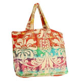 Rainbow Damask Terry Tote Bag by Fresco | Gracious Style