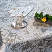Topkapi Titanium Table Linens
