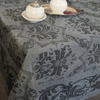 Topkapi Anthracite Table Linens