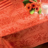 Topkapi Apricot Table Linens