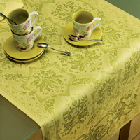 Topkapi Lime Lemon Table Linens
