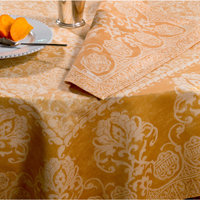 Grand Soir Wheat Table Linens