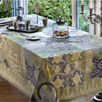 Rialto Lovat Green Table Linens