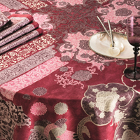 Rialto Peony Table Linens
