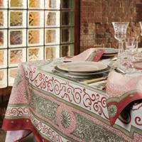 Giardino Pink Table Linens
