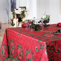 Winter Red Table Linens
