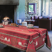 Cortina Red Table Linens