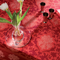 Toscane Fuchsia Table Linens