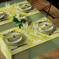 Toscane Anise Table Linens