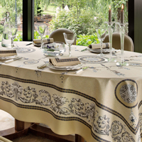 Voltaire Champagne Table Linens