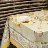 Voltaire Yellow Table Linens