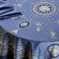 Voltaire Blue Table Linens