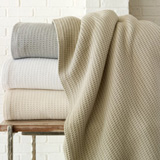 Peacock Alley Riviera Hotel Cotton Blanket | Gracious Style
