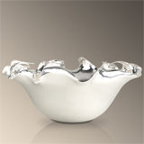 Ruffelle Serving Bowl by L'Objet | Gracious Style