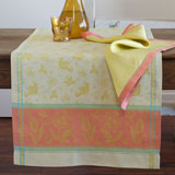 Linen Way Birds Orange Table Linens &#124; Gracious Style