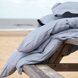Santiago Linen Sheets, Duvet Covers, Shams | Gracious Style