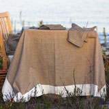 Linen Way Serenite Natural Table Linens &#124; Gracious Style