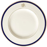 Pickard Signature Monogram Blue China | Gracious Style