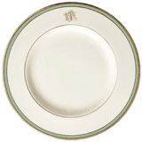 Pickard Signature Monogram Green China | Gracious Style
