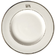 Four Signature Monogram Dinner Plates 10.5 in | Gracious Style