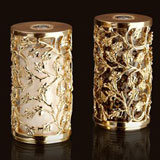 Lorel Gold Salt & Pepper Shakers  | Gracious Style