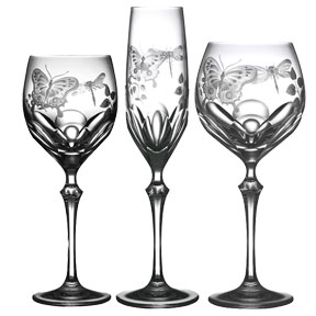 Varga Springtime Crystal Stemware | Gracious Style