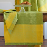 Linen Way St. Tropez Lime Table Linens &#124; Gracious Style