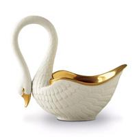 White Swan Serving Bowl by L'Objet | Gracious Style